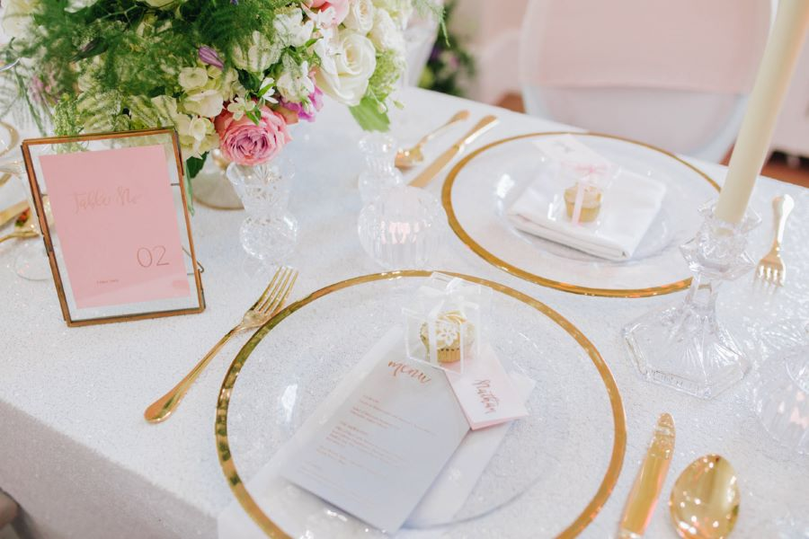 Light and romance with natural blush tones - wedding ideas from Downham Hall. Photographer credit Magical Moments Photography (23)