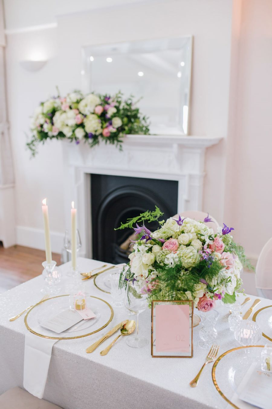 Light and romance with natural blush tones - wedding ideas from Downham Hall. Photographer credit Magical Moments Photography (27)