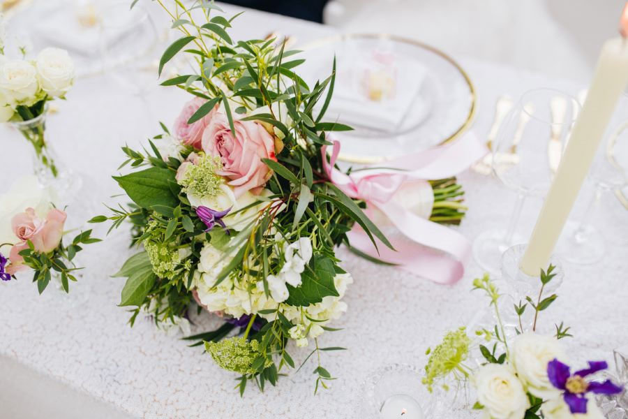 Light and romance with natural blush tones - wedding ideas from Downham Hall. Photographer credit Magical Moments Photography (38)