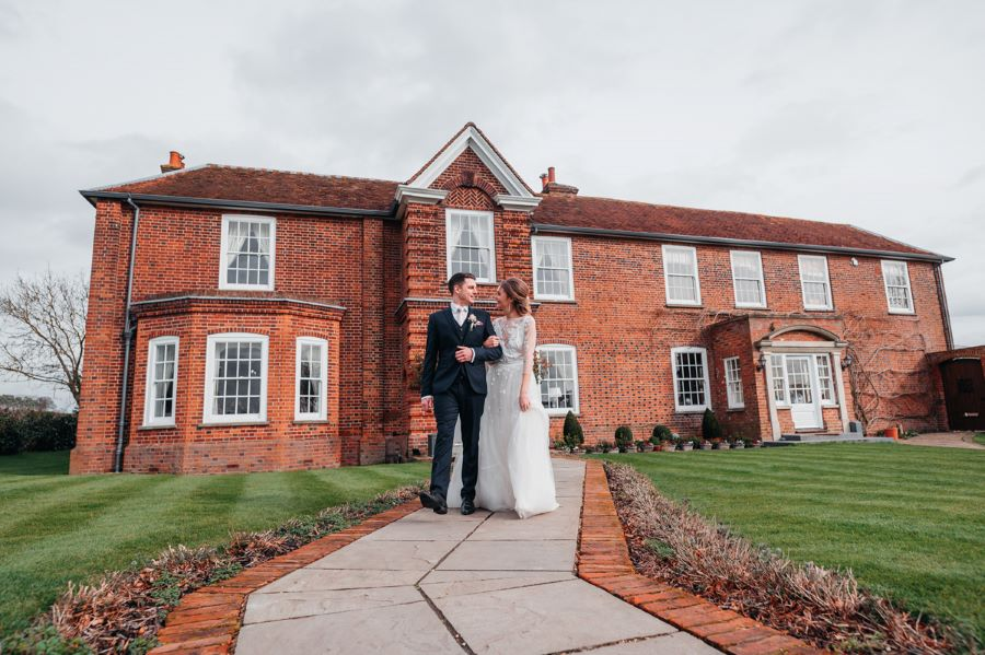 Light and romance with natural blush tones - wedding ideas from Downham Hall. Photographer credit Magical Moments Photography (39)