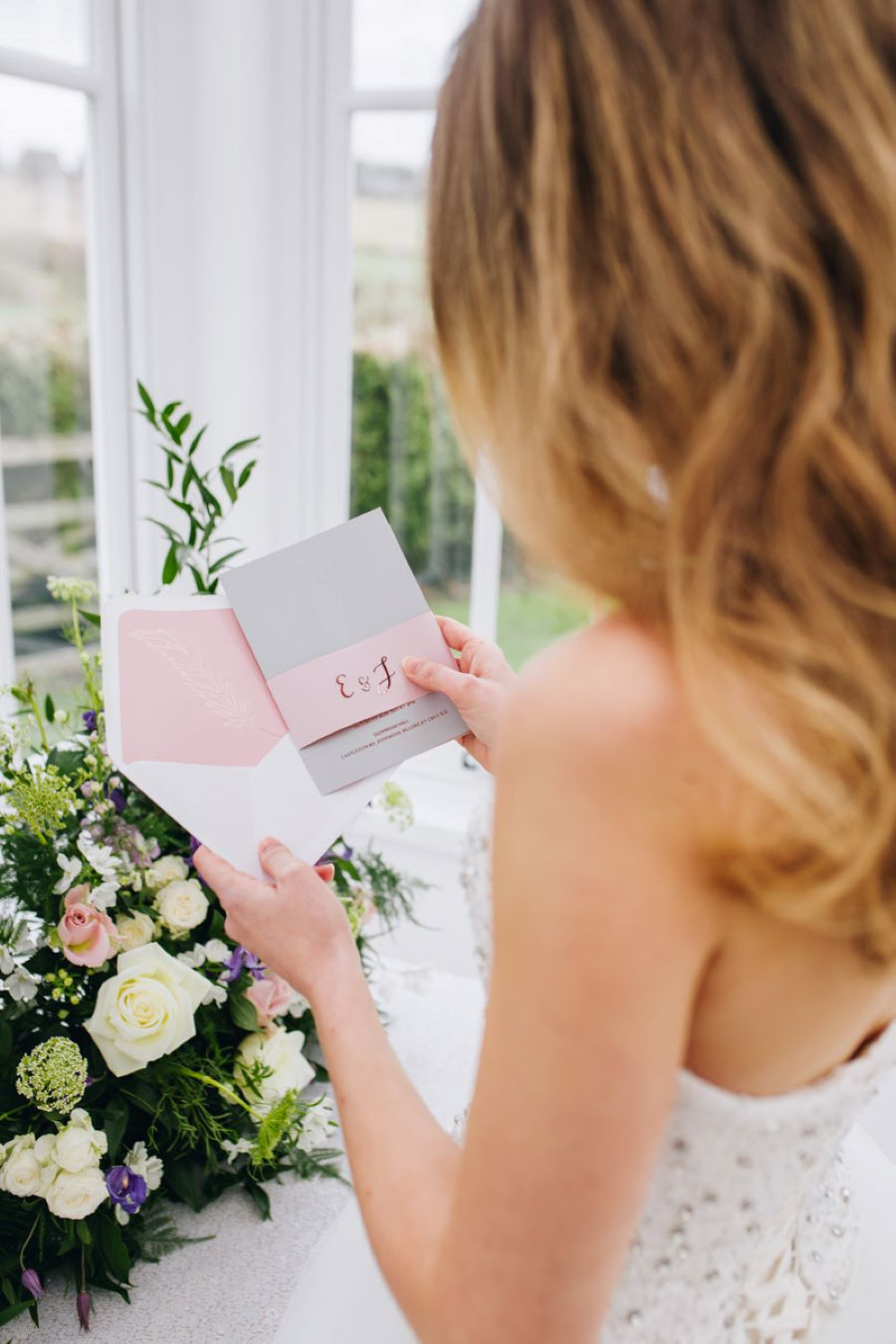 Light and romance with natural blush tones - wedding ideas from Downham Hall. Photographer credit Magical Moments Photography (41)
