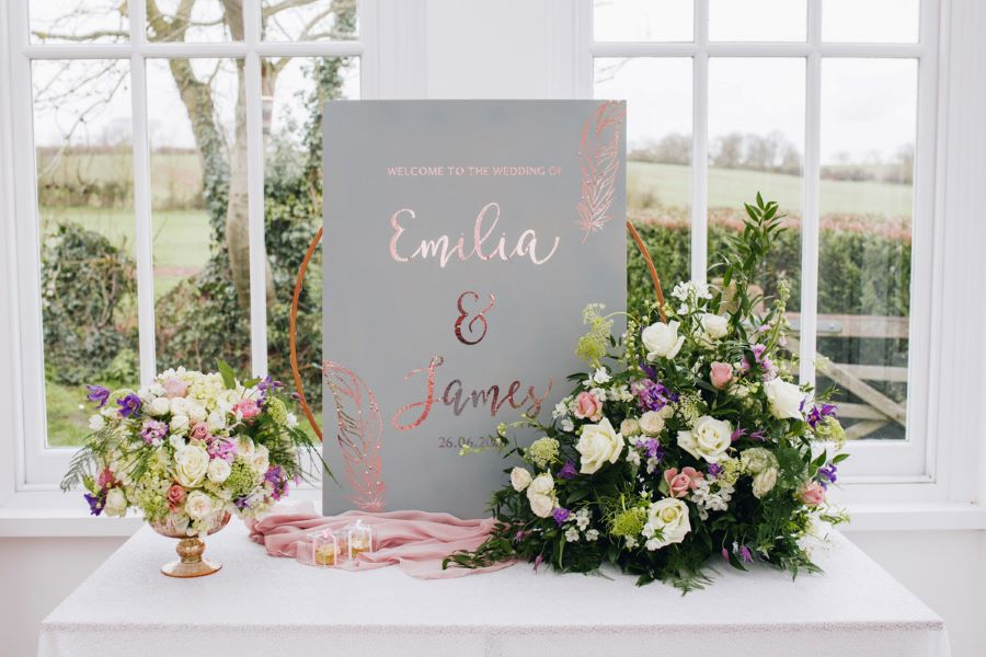 Light and romance with natural blush tones - wedding ideas from Downham Hall. Photographer credit Magical Moments Photography (43)