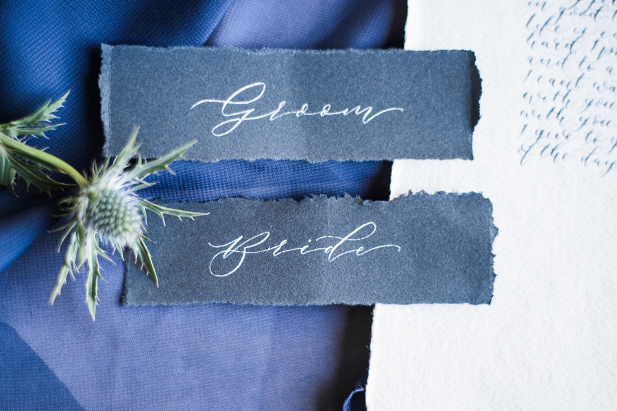 Beautiful blue wedding inspiration for 2021 couples, photo credit Laura Jane Photography (50)