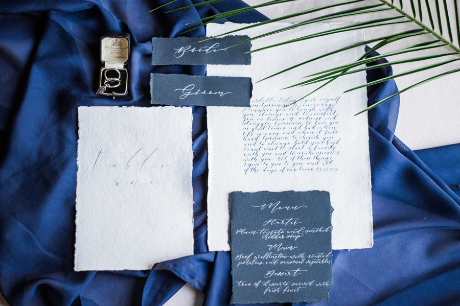 Beautiful blue wedding inspiration for 2021 couples, photo credit Laura Jane Photography (48)