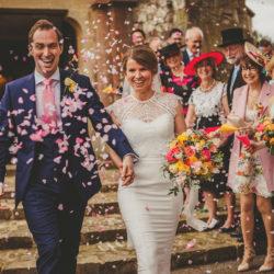 Ruth & Jonny's classic & timeless church wedding, with Howell Jones Photography