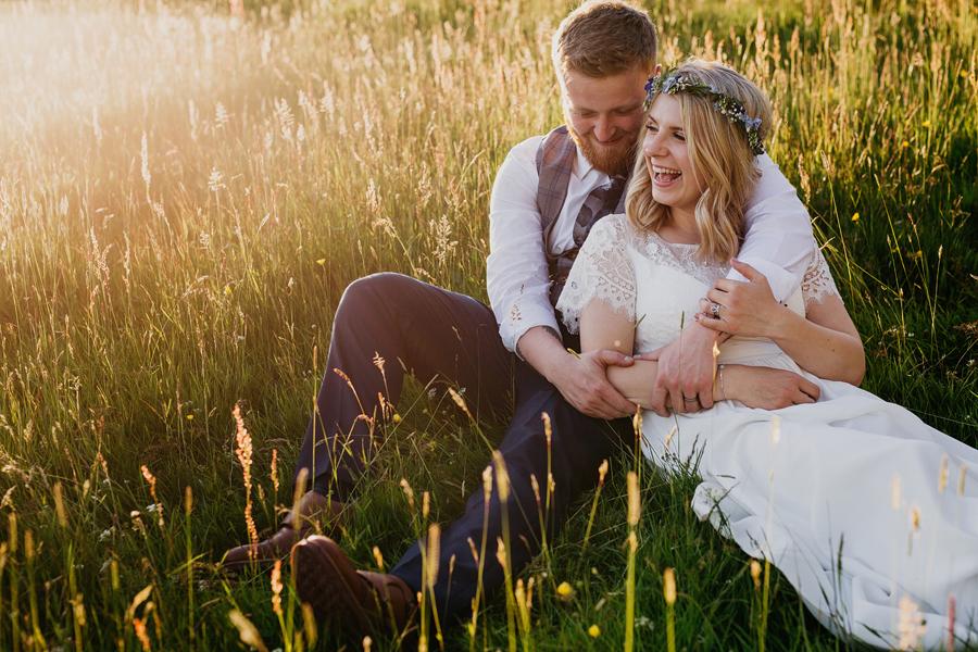 Boho and whimsical wedding photography - John Hope is based in Leeds
