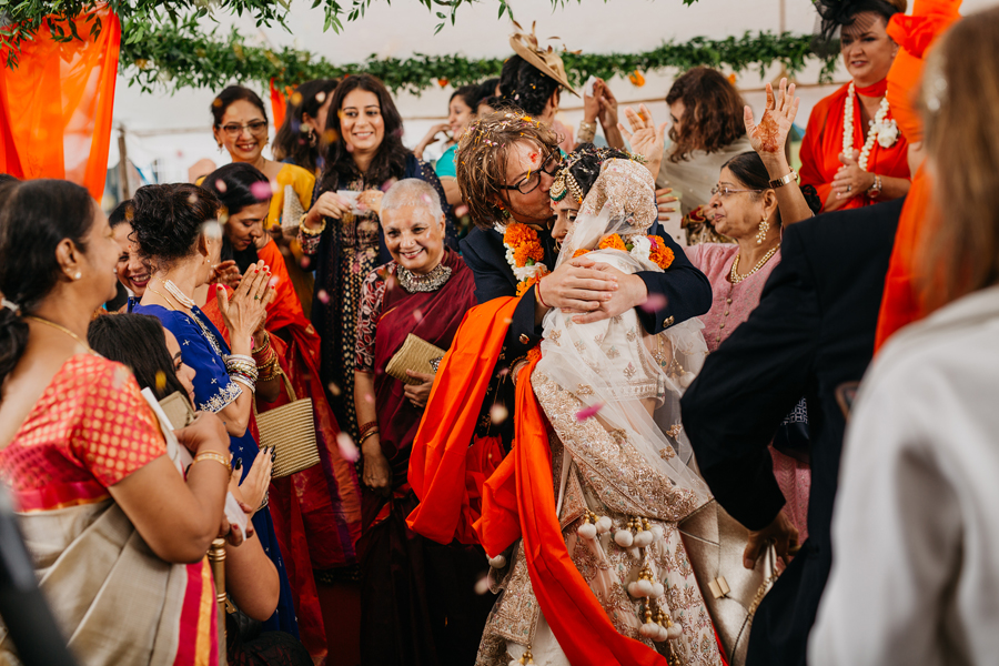 UK Asian weddings beautiful captured in a documentary style by John Hope Photography