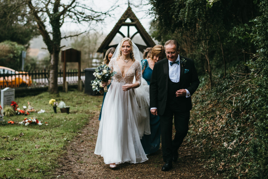 Vicky & Ali's stunning black tie NYE wedding on the Thames, with Simon Biffen Photography (12)