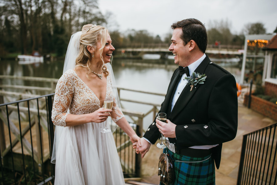 Vicky & Ali's stunning black tie NYE wedding on the Thames, with Simon Biffen Photography (28)