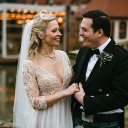 Vicky & Ali's stunning black tie NYE wedding on the Thames, with Simon Biffen Photography