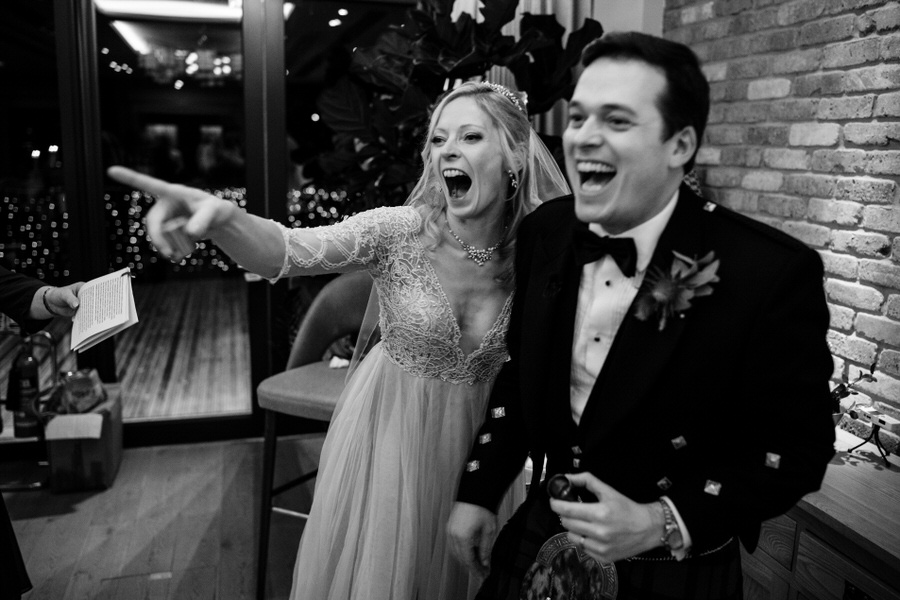 Vicky & Ali's stunning black tie NYE wedding on the Thames, with Simon Biffen Photography (40)