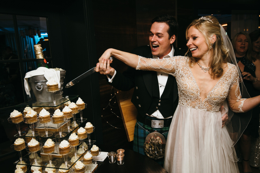 Vicky & Ali's stunning black tie NYE wedding on the Thames, with Simon Biffen Photography (43)