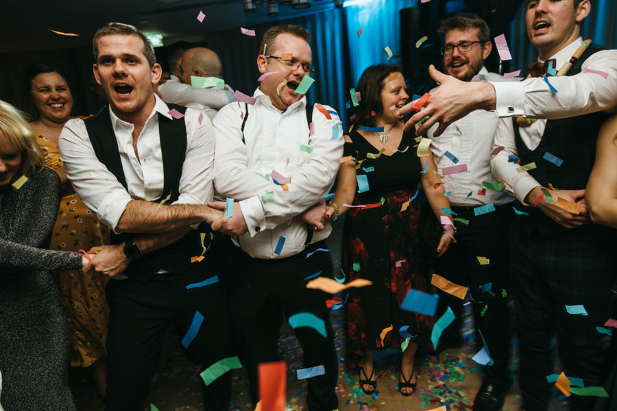 Vicky & Ali's stunning black tie NYE wedding on the Thames, with Simon Biffen Photography (48)