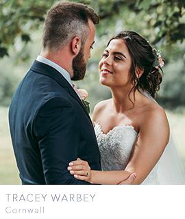 Cornwall wedding photographer Tracey Warbey