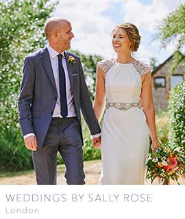 London wedding photographer Sally Rose