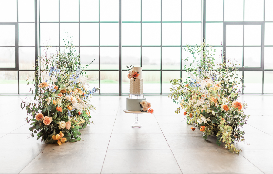 Effortlessly romantic, colourful spring wedding style from Botley Hill Barn (4)