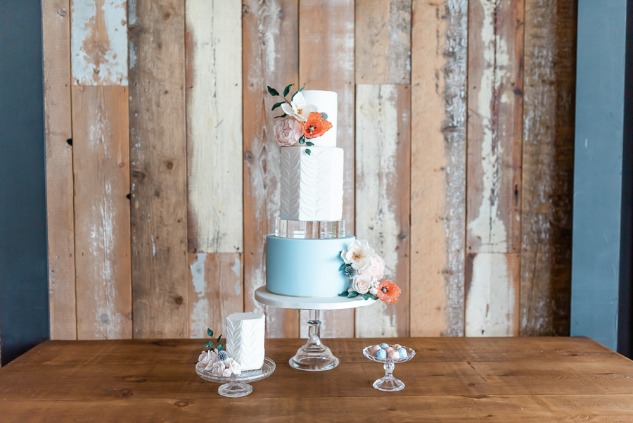 Effortlessly romantic, colourful spring wedding style from Botley Hill Barn (1)