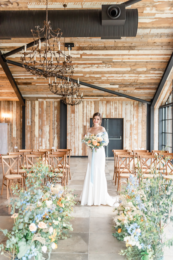 Effortlessly romantic, colourful spring wedding style from Botley Hill Barn (22)