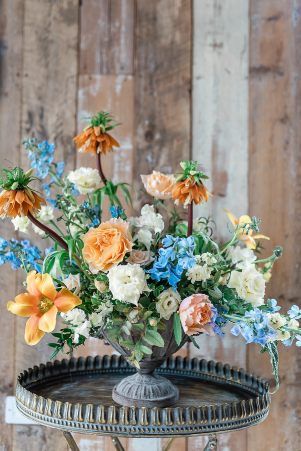 Effortlessly romantic, colourful spring wedding style from Botley Hill Barn (24)