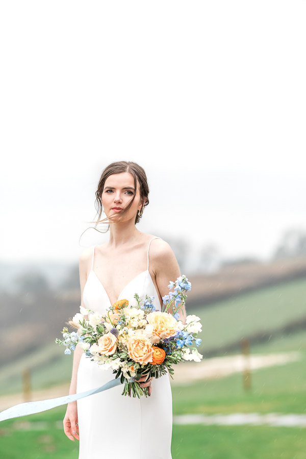 Effortlessly romantic, colourful spring wedding style from Botley Hill Barn (26)
