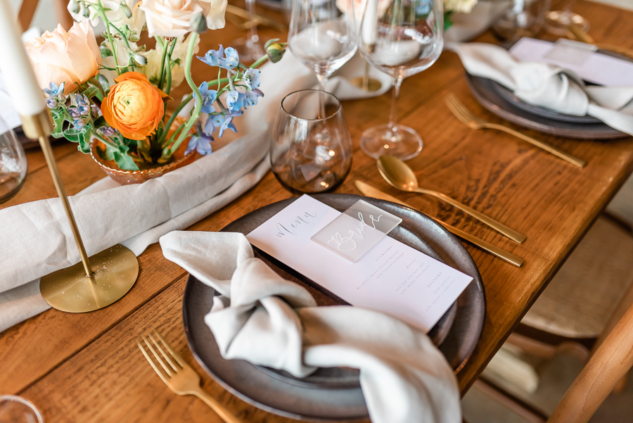 Effortlessly romantic, colourful spring wedding style from Botley Hill Barn (32)