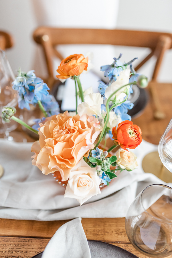 Effortlessly romantic, colourful spring wedding style from Botley Hill Barn (35)