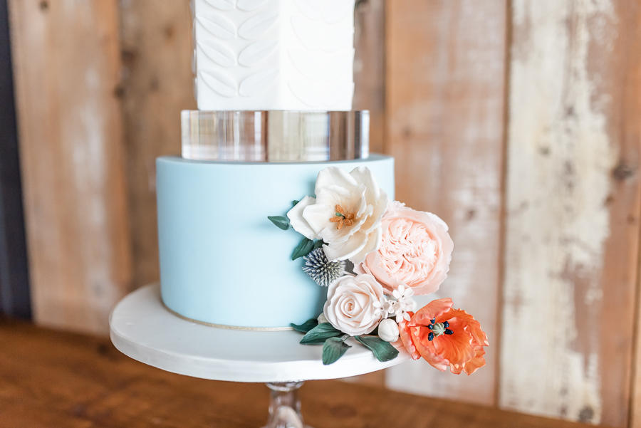 Effortlessly romantic, colourful spring wedding style from Botley Hill Barn (2)