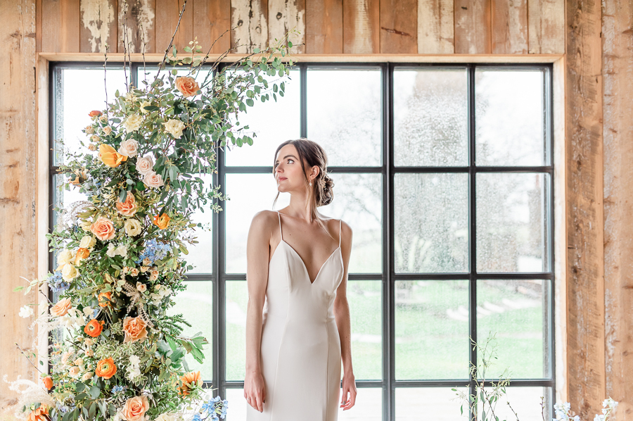 Effortlessly romantic, colourful spring wedding style from Botley Hill Barn (44)