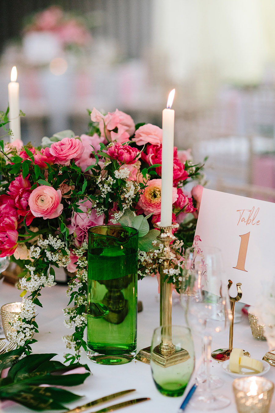 Incredible florals for Maryanne & Adam's beautiful Chippenham Park Hall wedding, with images by Nick + Maria (34)