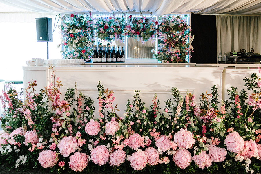 Incredible florals for Maryanne & Adam's beautiful Chippenham Park Hall wedding, with images by Nick + Maria (40)