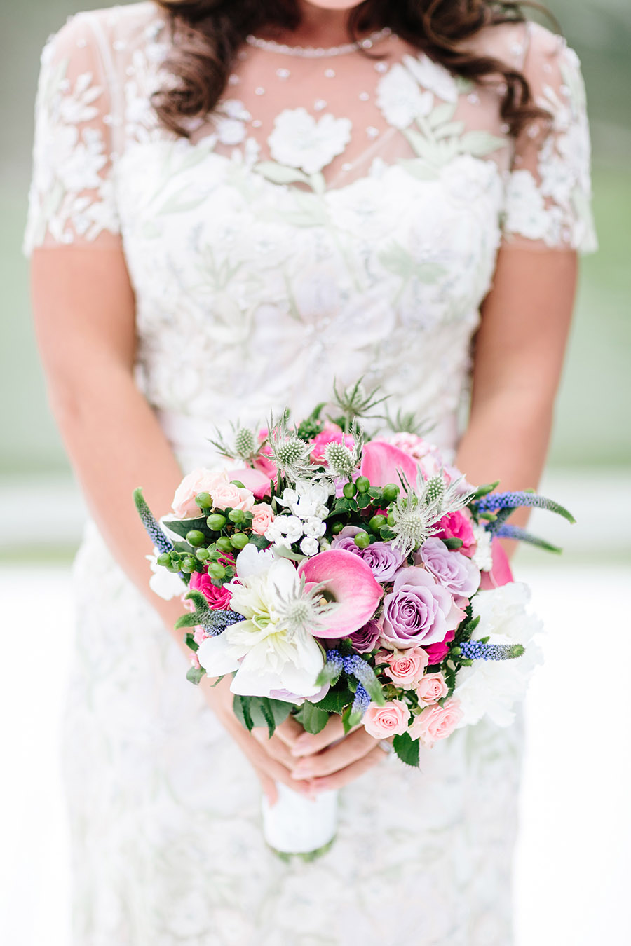 Incredible florals for Maryanne & Adam's beautiful Chippenham Park Hall wedding, with images by Nick + Maria (41)