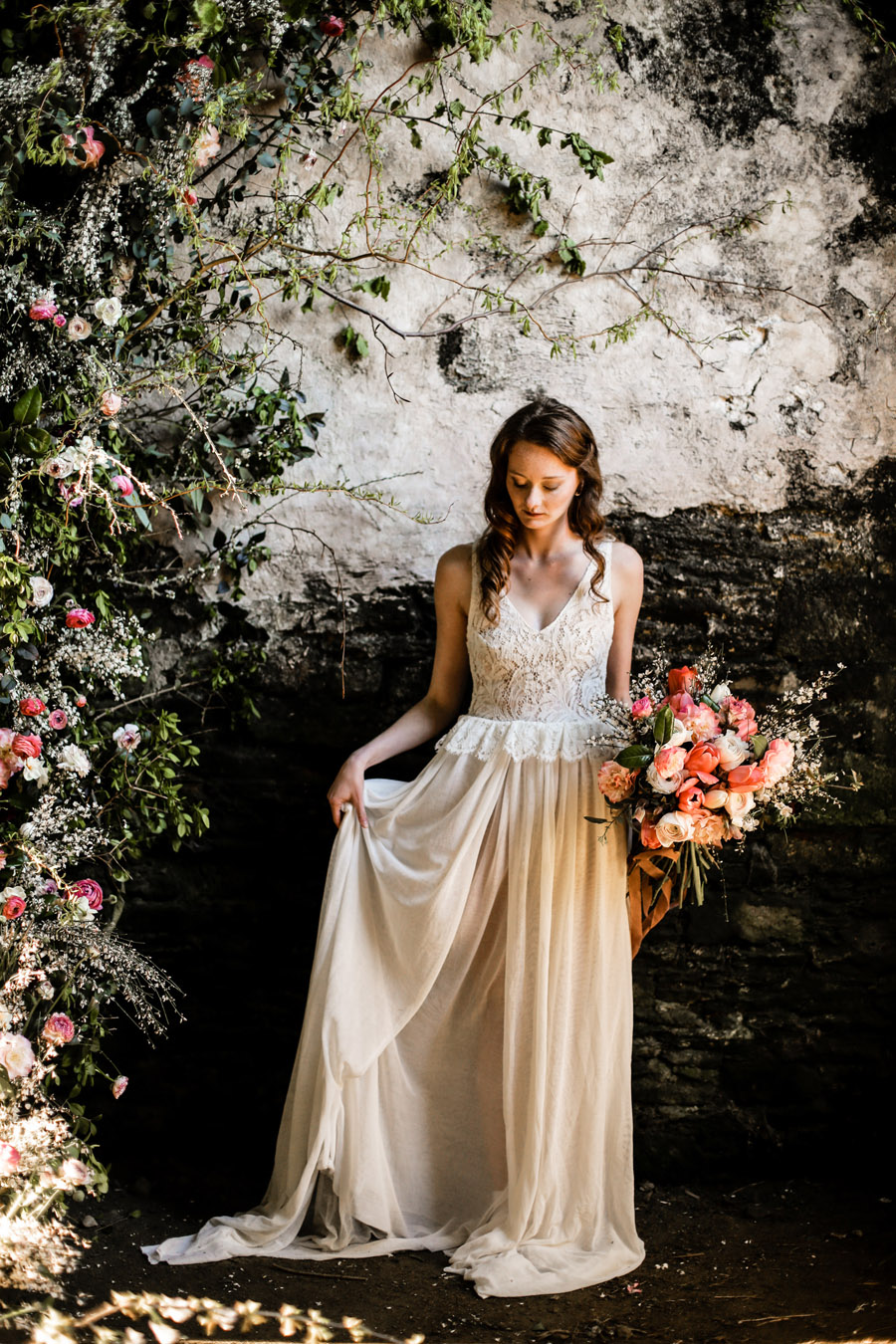 Elegant, floral and Ethical wedding inspiration shoot, image credit Amandine Ropars (47)