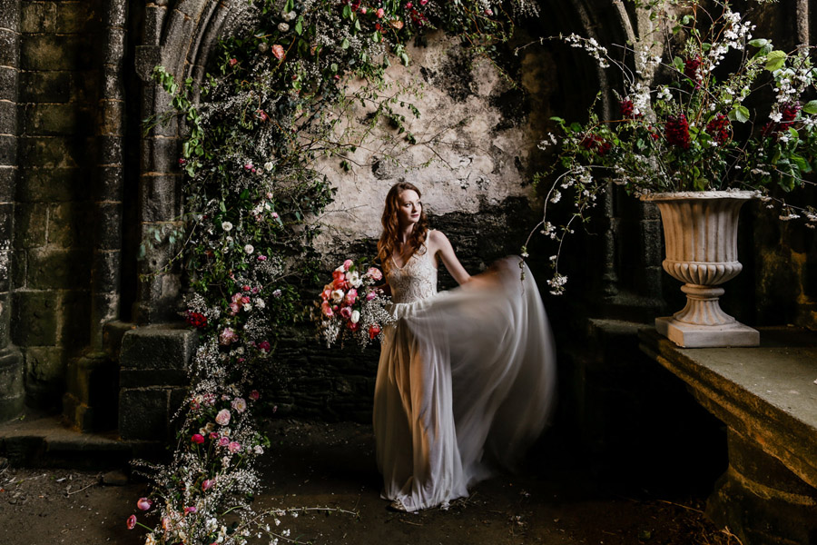 Elegant, floral and Ethical wedding inspiration shoot, image credit Amandine Ropars (2)