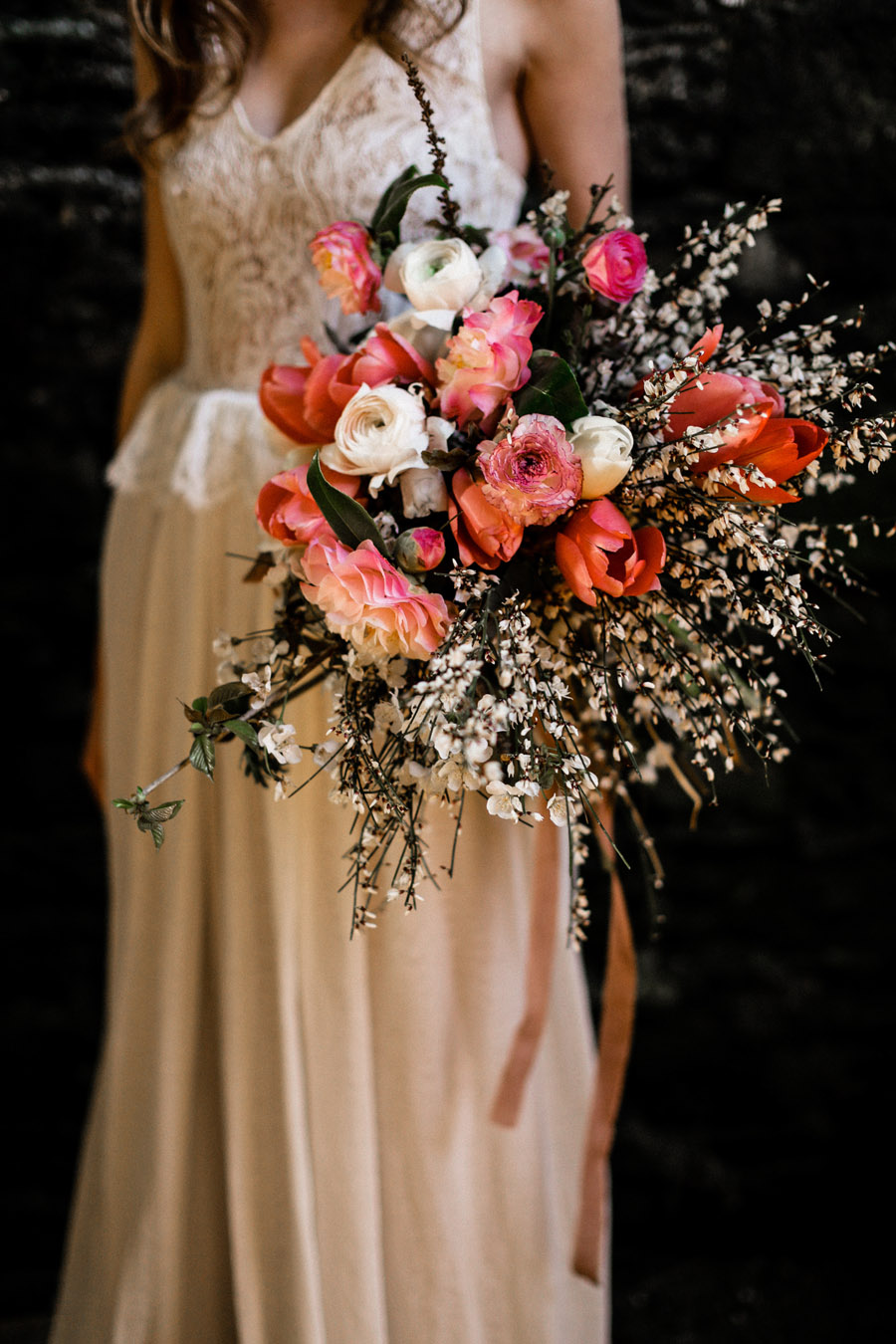 Elegant, floral and Ethical wedding inspiration shoot, image credit Amandine Ropars (45)