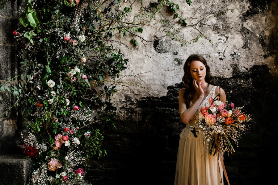 Elegant, floral and Ethical wedding inspiration shoot, image credit Amandine Ropars (44)