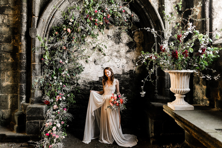 Elegant, floral and Ethical wedding inspiration shoot, image credit Amandine Ropars (42)