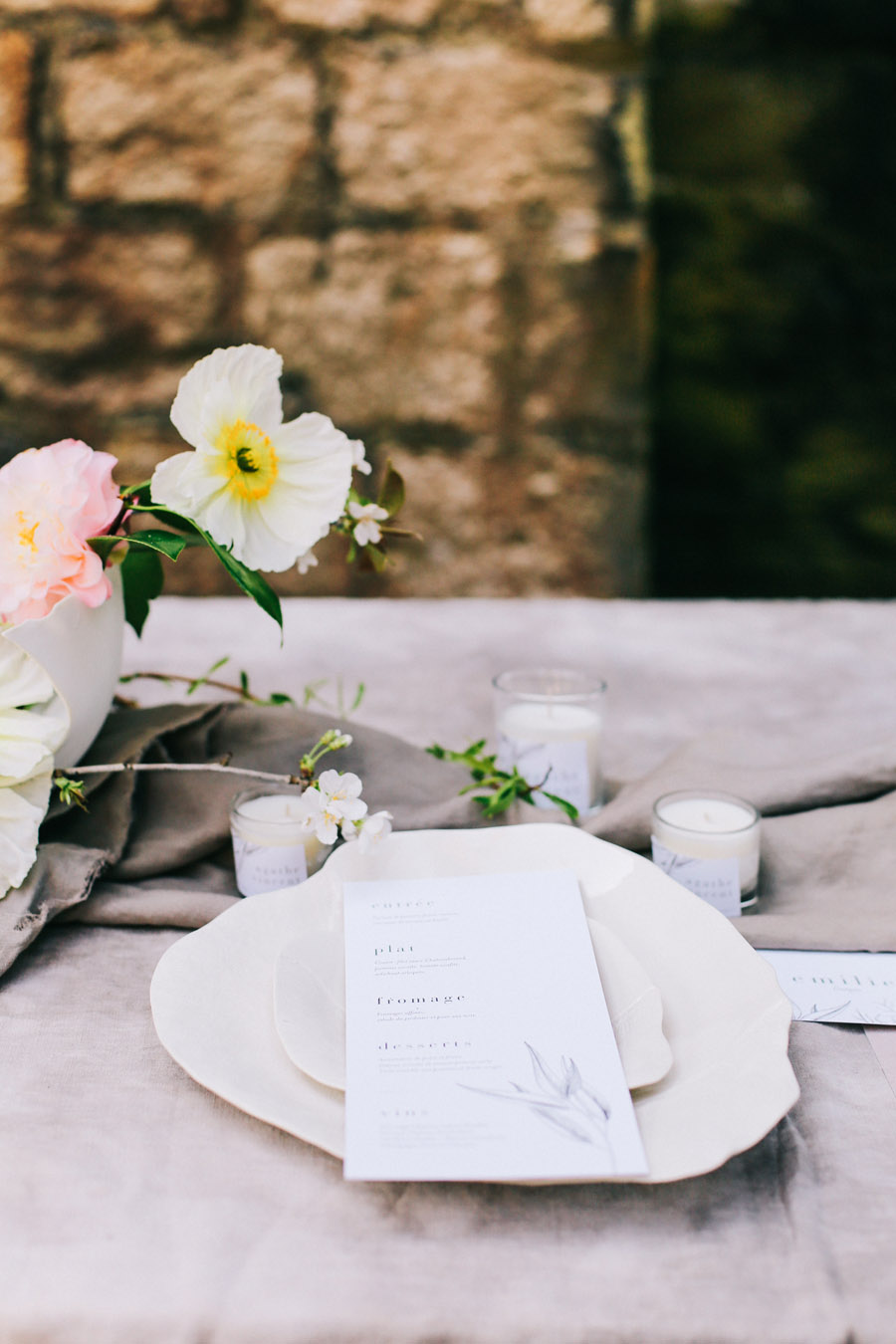Elegant, floral and Ethical wedding inspiration shoot, image credit Amandine Ropars (38)
