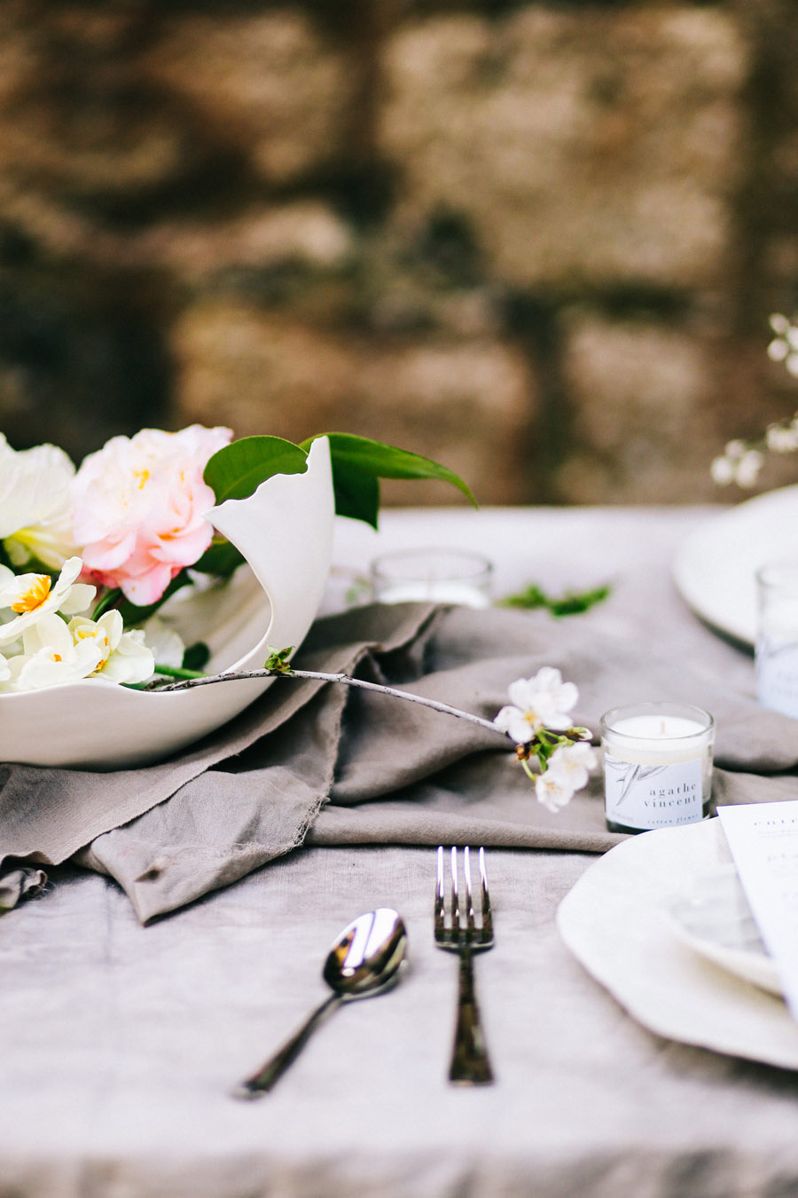 Elegant, floral and Ethical wedding inspiration shoot, image credit Amandine Ropars (28)