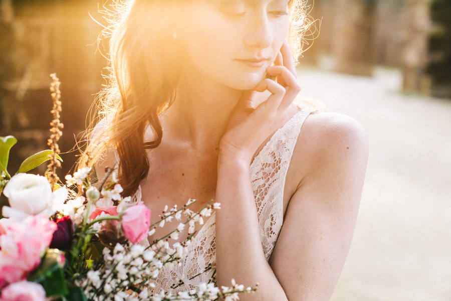 Elegant, floral and Ethical wedding inspiration shoot, image credit Amandine Ropars (9)