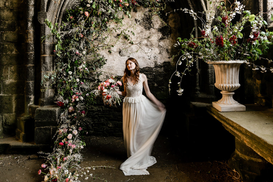 Elegant, floral and Ethical wedding inspiration shoot, image credit Amandine Ropars (4)