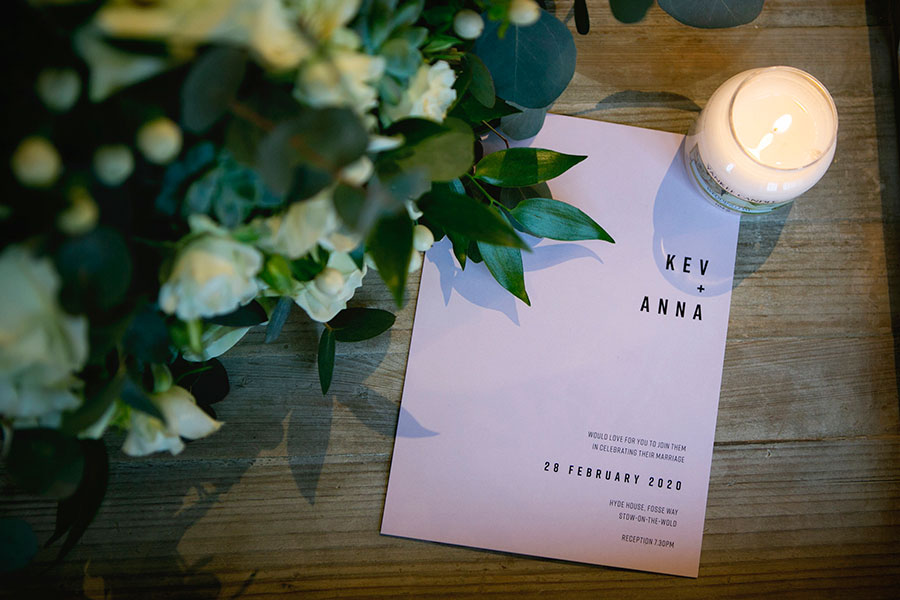Anna & Kevin's chic modern wedding at Hyde House, with Katrina Matthews Photography (7)