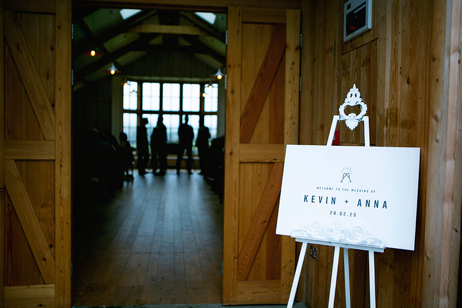 Anna & Kevin's chic modern wedding at Hyde House, with Katrina Matthews Photography (19)