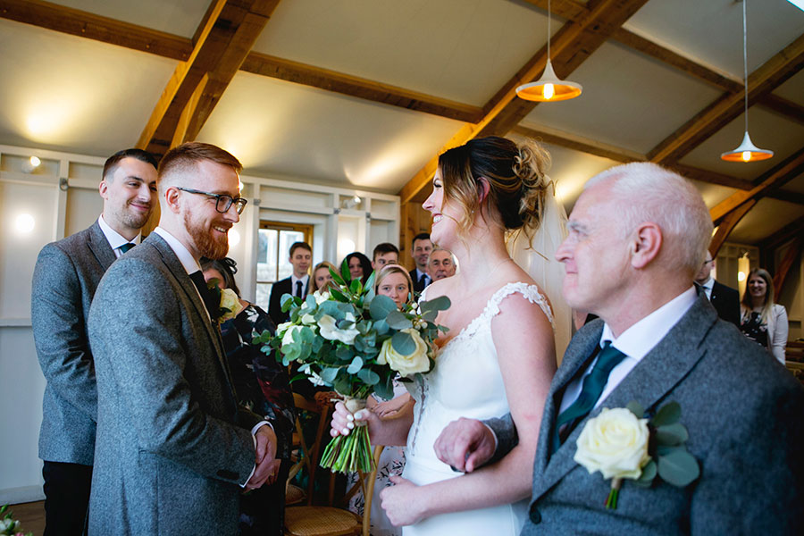 Anna & Kevin's chic modern wedding at Hyde House, with Katrina Matthews Photography (20)