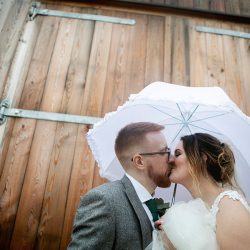 Anna & Kevin's chic modern wedding at Hyde House, with Katrina Matthews Photography