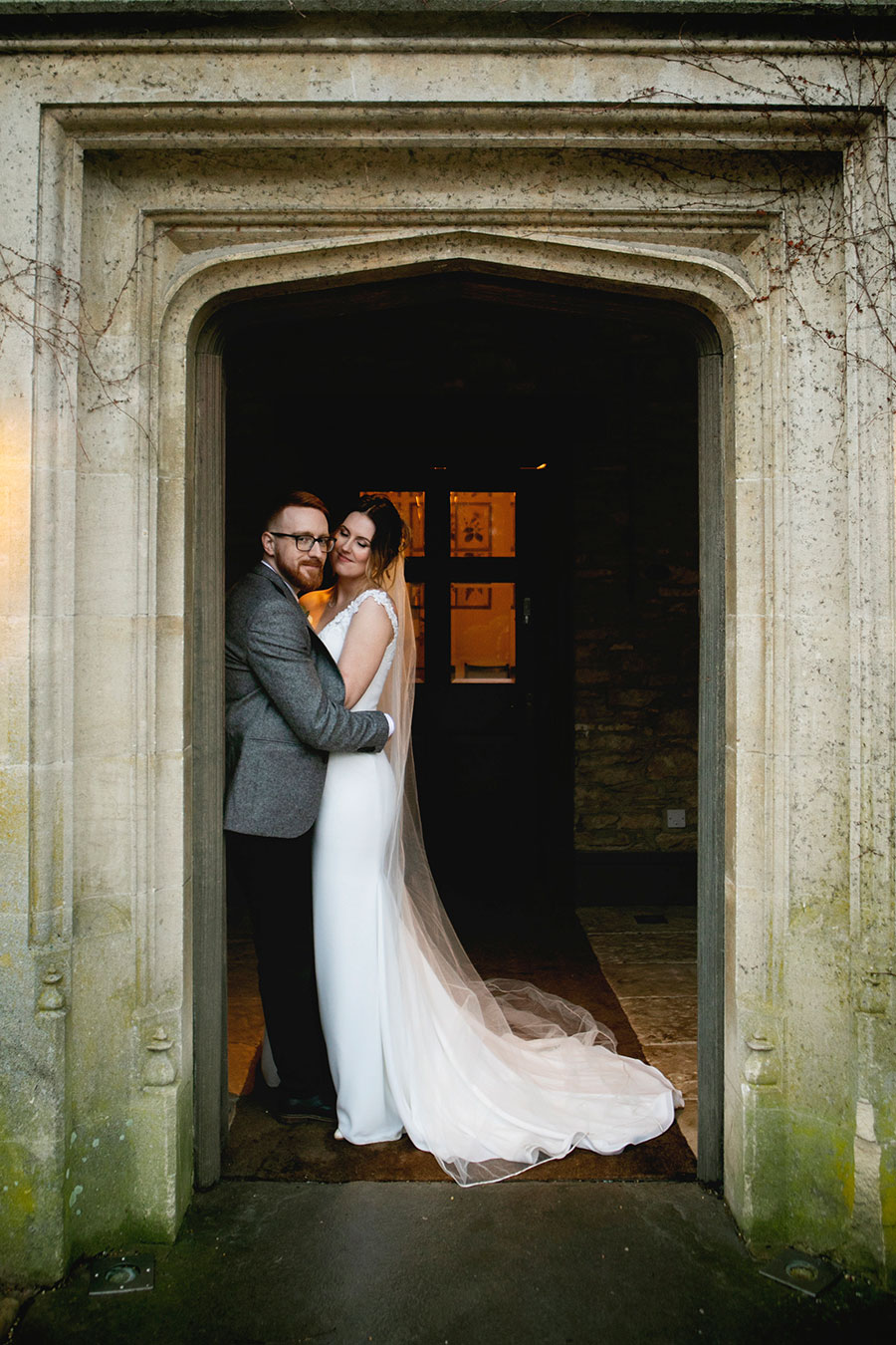 Anna & Kevin's chic modern wedding at Hyde House, with Katrina Matthews Photography (37)