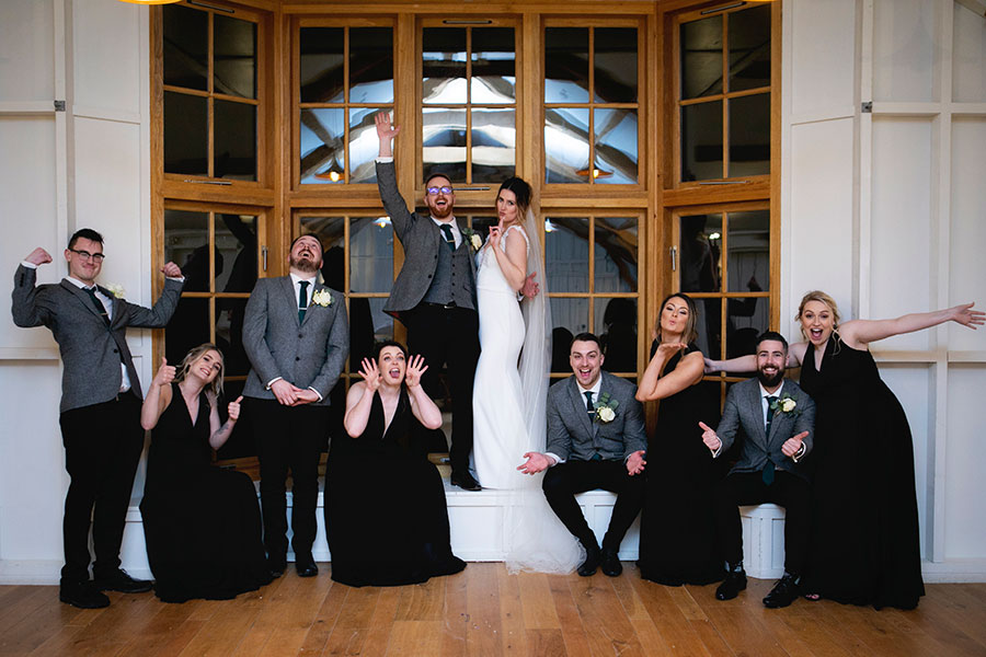 Anna & Kevin's chic modern wedding at Hyde House, with Katrina Matthews Photography (39)
