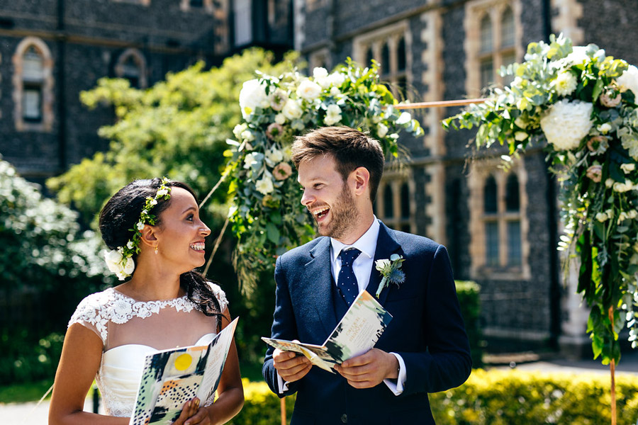 Equal, cool, awesome weddings captured by London wedding photographer Jordanna Marston (2)