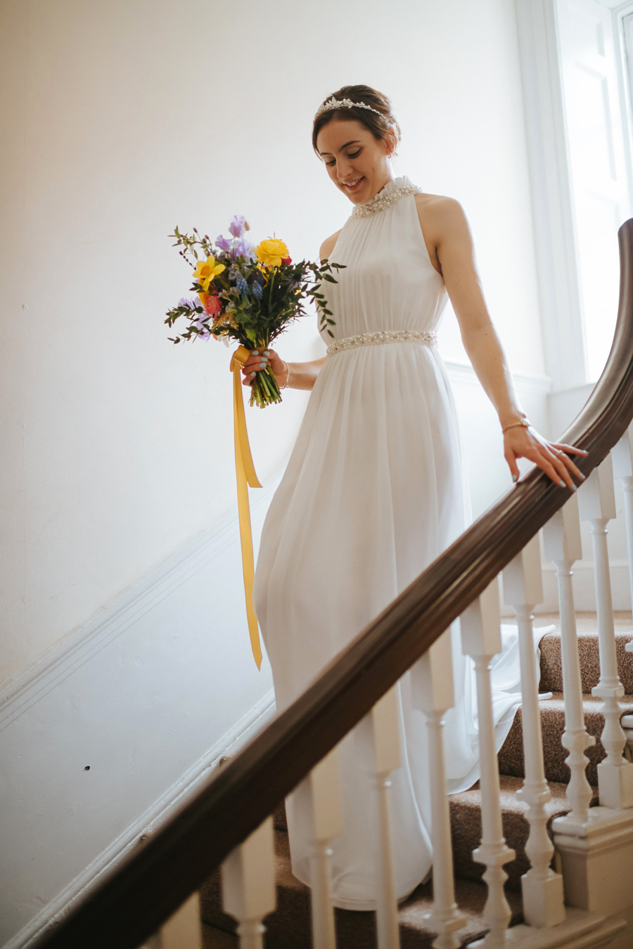Maisie & David's beautifully simple Bristol wedding, with Joab Smith Photography (7)
