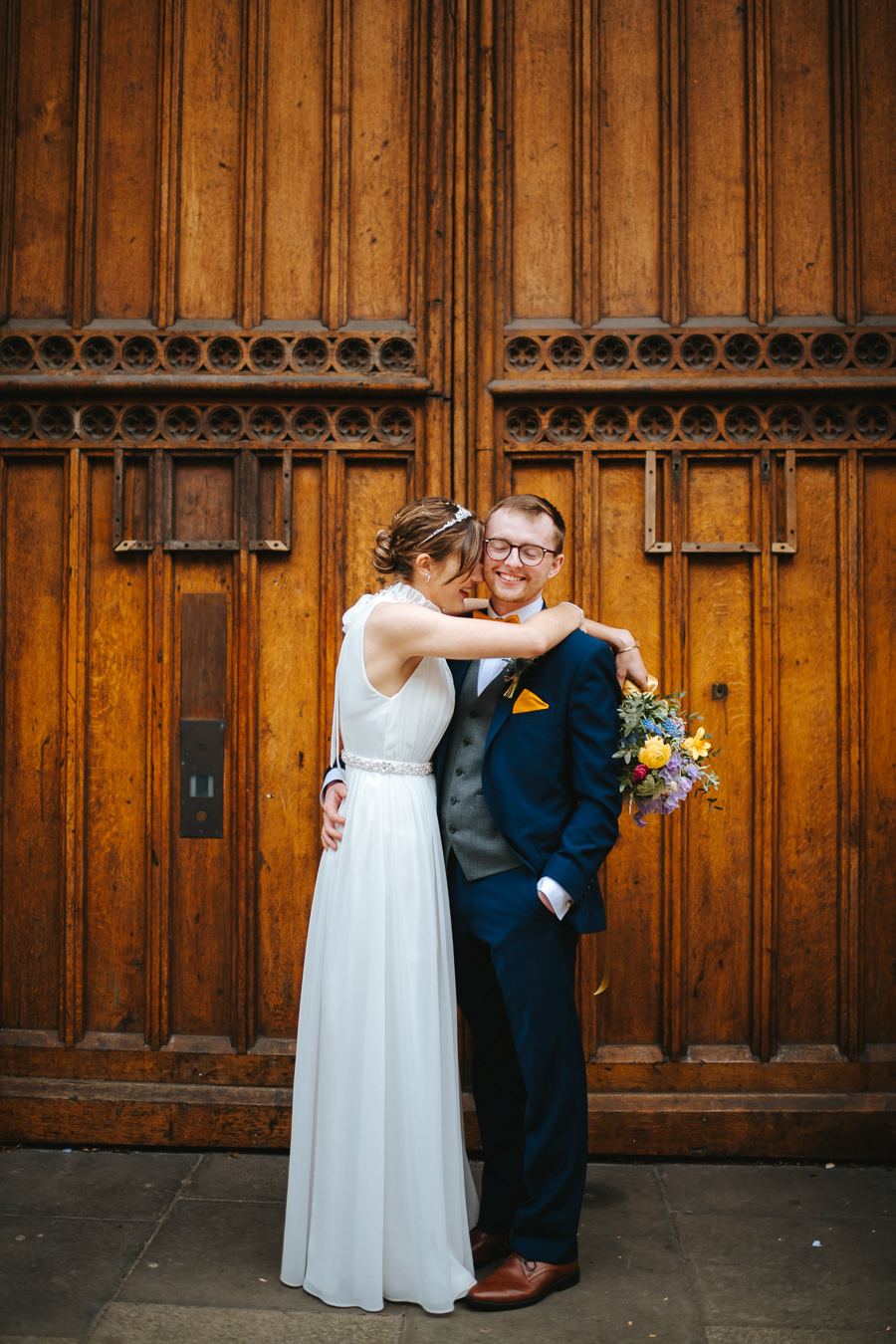 Maisie & David's beautifully simple Bristol wedding, with Joab Smith Photography (39)