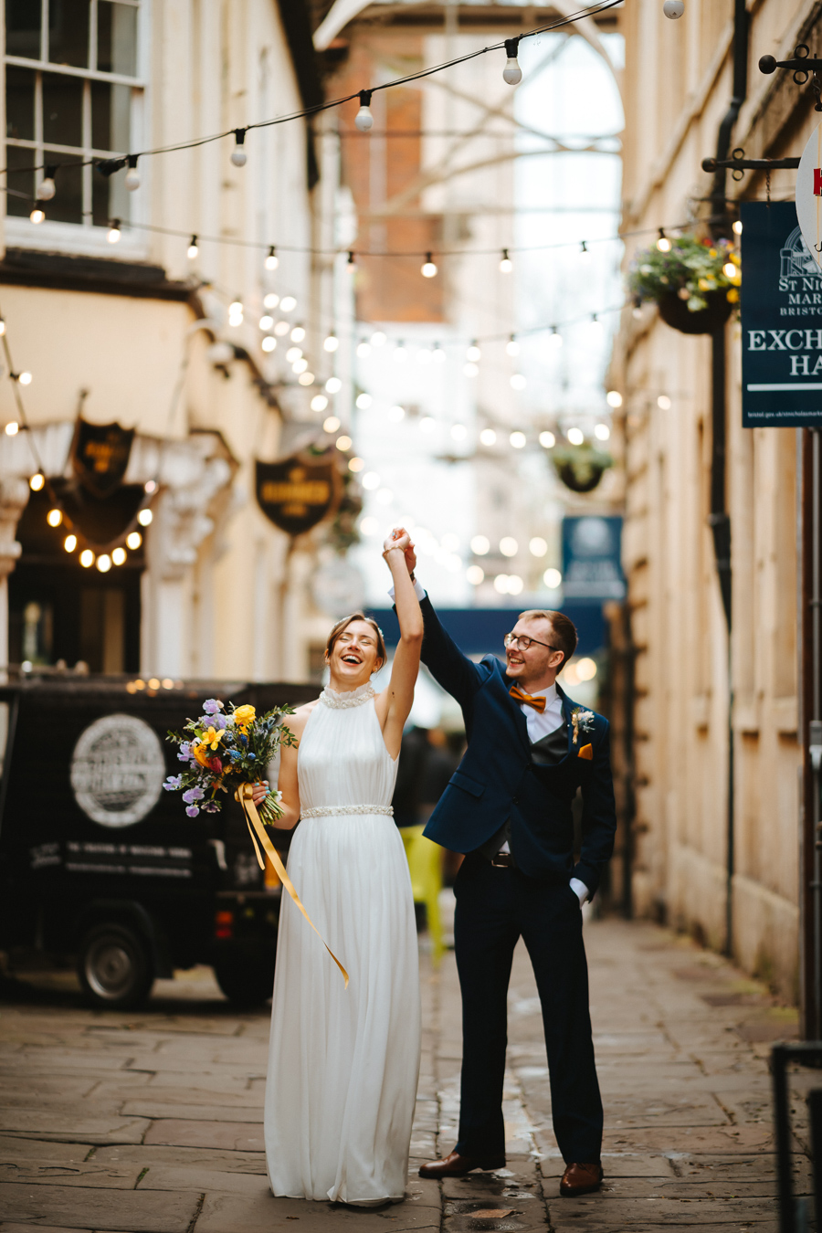 Maisie & David's beautifully simple Bristol wedding, with Joab Smith Photography (40)